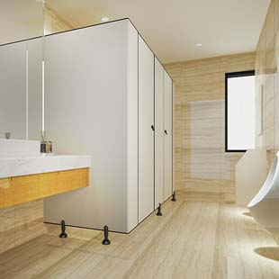 O material para divisórias de banheiro com o melhor preço